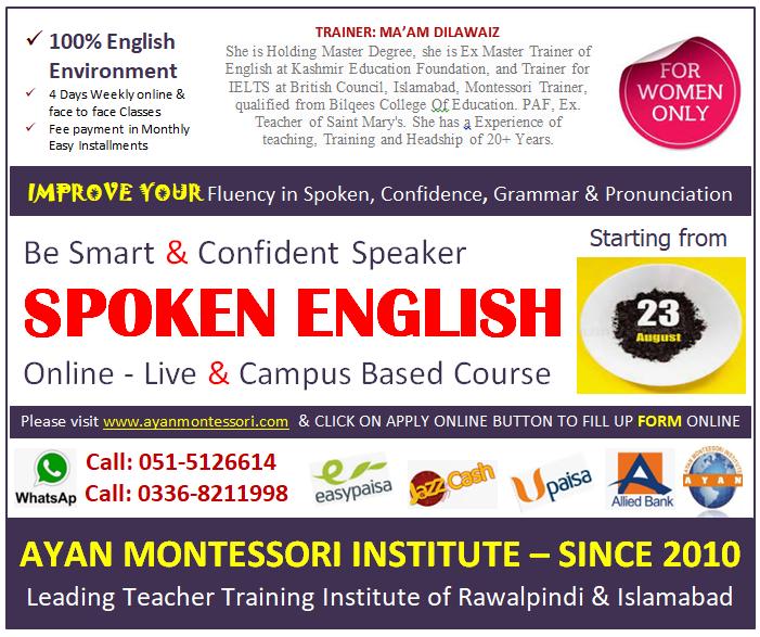 spokenn english